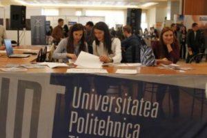 Peste 2.220 locuri fără taxă, scoase la concurs de Universitatea Politehnica Timișoara