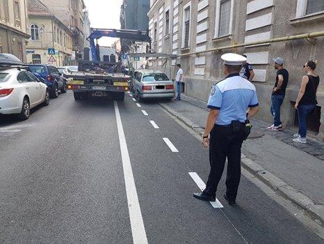 Atenție unde parcați! Se prelungește programul de ridicare a autorismelor staționate ilegal, la Timișoara!