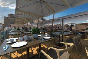Craft Rooftop, noua terasă de pe clădirea Modex, se va deschide sâmbătă