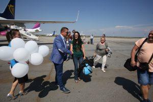 Pasagerul 1.000.000 la Aeroportul Internaţional Timişoara