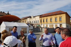 """Deputatul Adrian Todor: """"PSD s-a ţinut de promisiune şi a salvat, deocamdată, Piaţa Catedralei de la demolare"""""""