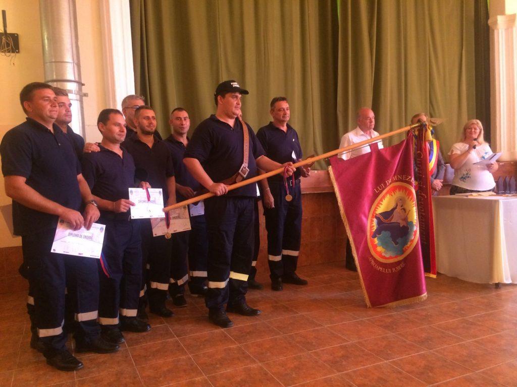 Serviciul voluntar pentru Situații de Urgență Biled, la ceas aniversar. Nouăzeci de ani de la înființare