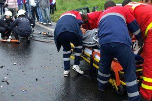 Două accidente grave au avut loc luni în judeţul Hunedoara
