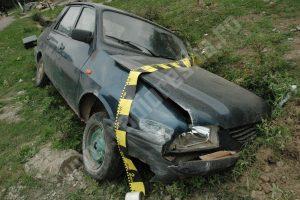 Fetiţă de 4 ani, internată la Judeţean după ce a fost lovită de un şofer beat şi fără permis
