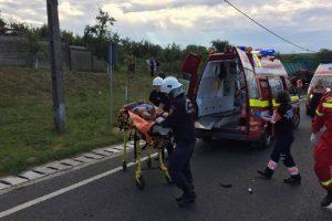 Accident grav în apropiere de Caransebeş