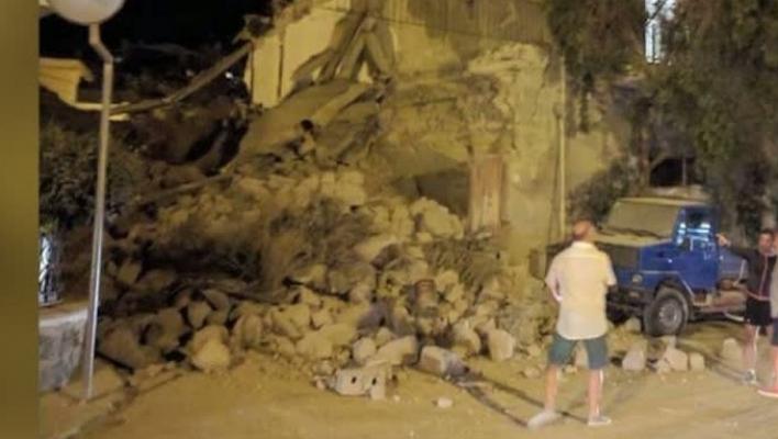 Cutremur puternic în Italia. Două persoane au murit, iar alte 25 au fost rănite