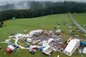 Furtună de proporții în Austria. O româncă, printre persoanele decedate