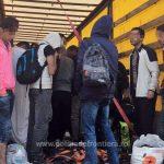 Zeci de migranţi sirieni și irakieni, călăuziţi de un cetăţean român, depistaţi de poliţiştii de frontieră de la vama Nădlac