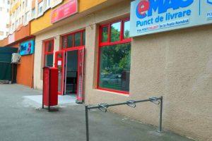 Rastele pentru biciclete la oficiile poștale din Timiș