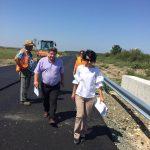 Asfaltarea drumului judeţean Babşa-Ghizela, aproape de finalizare