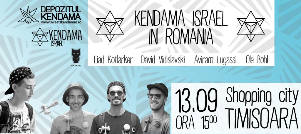 Cei mai mari jucători de Kendama din lume vin la Shopping City Timișoara