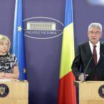 Premierul Tudose, discuții cu comisarul Corina Crețu, despre accelerarea absorbției fondurilor UE