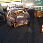 Accident grav pe autostrada A1. Un bărbat şi-a pierdut viaţa