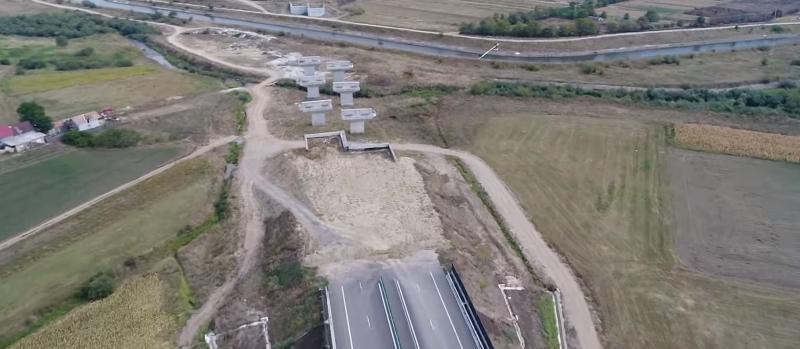 Autostrada Gilău-Nădășelu, deschisă anul viitor