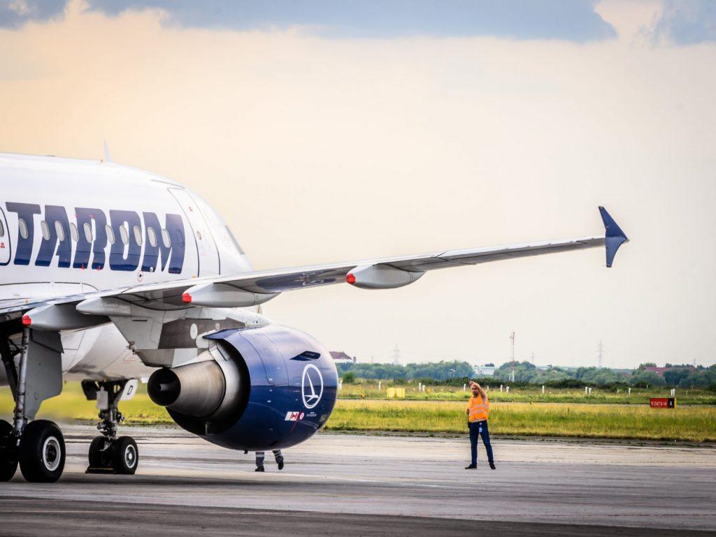 Peste 60% creştere a traficului aerian la Aeroportul Internaţional Timişoara în primele 8 luni din 2017