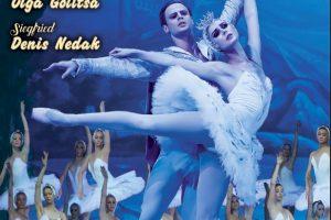 Compania din St. Petersburg a celebrului balerin Andrei Batalov dansează Lacul lebedelor la Timișoara