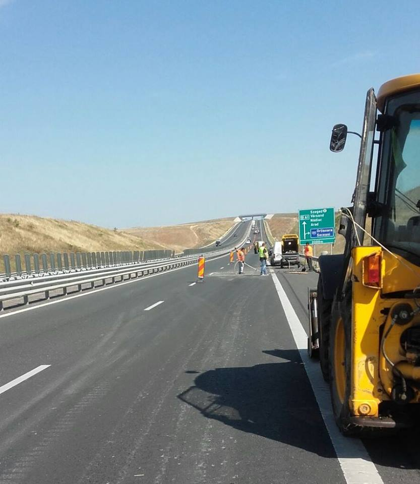 Trafic restricționat pe autostrada A1 Deva – Sibiu