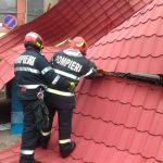 Pompierii au fost la datorie după furtună. Unde au intervenit
