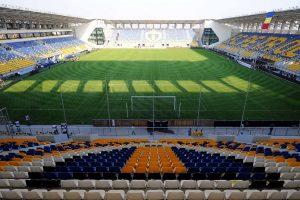 Stadionul Ilie Oana din Ploiesti.