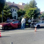 Accident rutier lângă sediul ISU Timiș