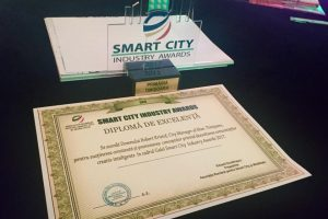 Primăria Timișoara, premiu de excelență pentru interesul față de proiectele Smart City