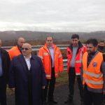 """Ministrul Transporturilor, Felix Stroe, pe A1 Lugoj-Deva: """"Vă cer să intensificăm ritmul de lucru"""""""