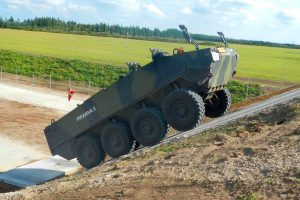 România începe fabricarea și dotarea Armatei cu vehicule blindate Piranha V