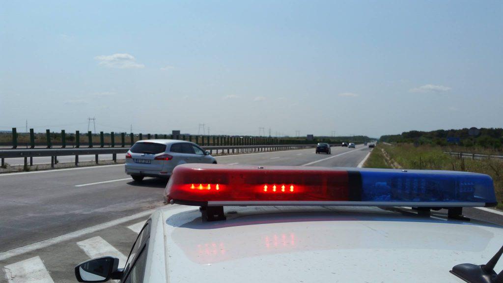 Video: Vitezoman surprins de radarul polițiștilor de pe A1 cu 219 km/h! Află câți șoferi au fost sancționați