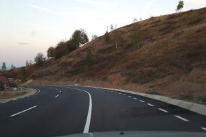 A fost finalizată noua șosea spre Mănăstirea Prislop