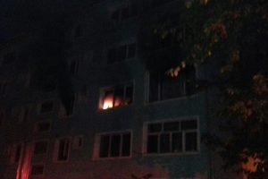 O bătrână din Banat a murit luni seara într-un incendiu