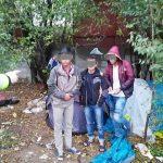 11 migranți, găsiţi de polițiștii locali într-o tabăra improvizată din Calea Aradului