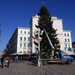 Foto: Bradul e ridicat, căsuțele aproape gata! Vezi programul Târgului de Crăciun Timișoara