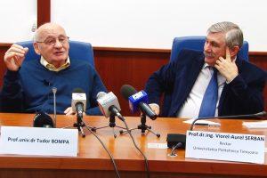 Tudor Bompa, omul din spatele succesului lui Ben Johnson, vine la Universitatea Politehnica Timişoara