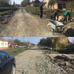 A început asfaltarea drumului către gară în localitatea Biled
