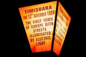 133 de ani de când Timişoara a devenit primul oraş european cu străzile iluminate electric