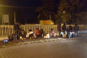 17 migranți din Irak, depistaţi la ieşirea din Timişoara spre Lugoj