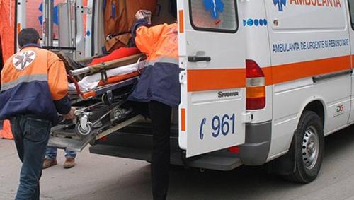 Miner, în stare gravă la spital după ce a fost ars pe 40% din suprafața corpului