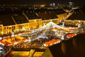 Sibiul devine cel mai căutat oraș din ţară la inaugurarea Târgului de Crăciun
