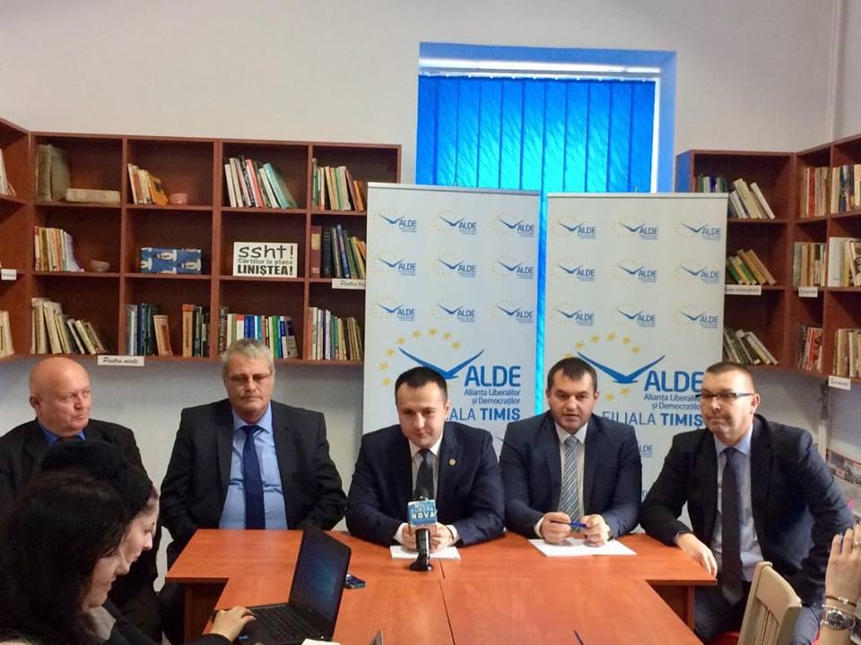 """ALDE Timiș: """"Actele doveditoare se află în contabilitatea partidului și pot fi probate"""""""