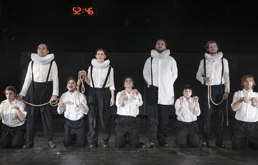 """""""Shakespeare, Sonnet 66"""", cel mai premiat spectacol al Teatrului Maghiar în 2017"""