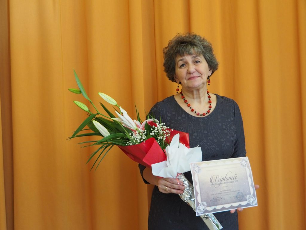 Molnár Bence și Kertész Éva, laureații Teatrului Maghiar de Stat  la Pro Cultura Timisiensis