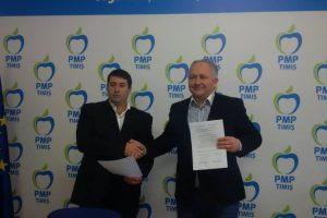 Protocol de colaborare între PMP Timiș și Partidul Ecologist Român