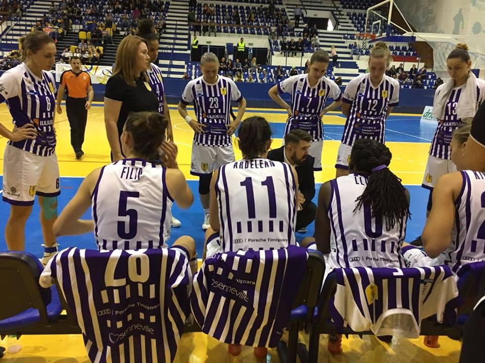 Fetele de la SCM Timișoara, în semifinalele Cupei României