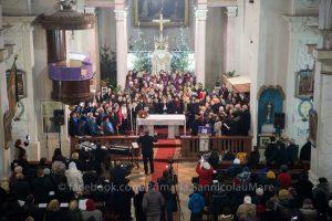 Concert de colinde la Biserica Romano-Catolică din Sânnicolau Mare