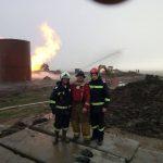 Pompierii militari din cadrul ISU Timiș continuă lupta cu flăcările în Satu Mare