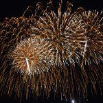 Spectacol de artificii în noaptea de Revelion la Sânnicolau Mare