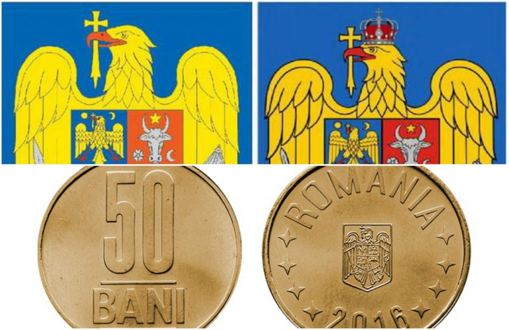 BNR va lansa în circulație bancnote și monede cu noua stemă a țării