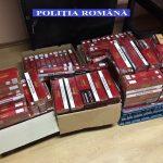 Ţigări de contrabandă, confiscate de polițiștii din Lugoj