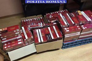 Percheziții la contrabandiştii de ţigări