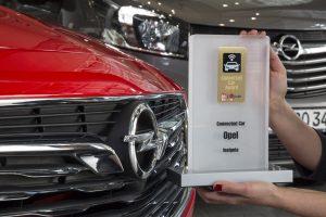 """Premiile """"Connected Car"""": victorii pentru Opel Insignia și Opel Vivaro Life"""